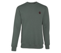 Single Stone Crew Sweater forest