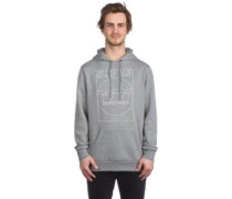 Lines Hoodie grey heather