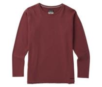 Myna T-Shirt LS rose brown