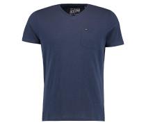 Jacks Base V-Neck T-Shirt ink blue