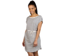 Kano Stripe Dress navy blue