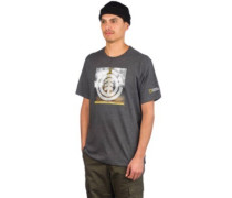Combust Icon T-Shirt charcoal heathe