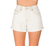 High Tide Denim Shorts acid blue