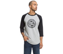 Research 3/4 Raglan T-Shirt LS grey heather