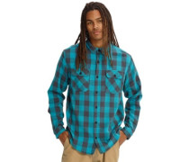 Brighton Burly Flannel Shirt LS tahoe heather buffalo bur