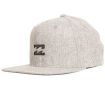 All Day Heather Snap Cap grey heather