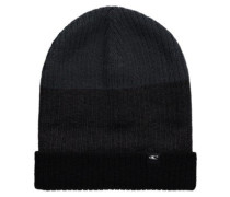 Reversible Block Beanie black out