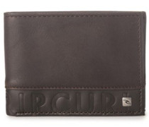 Cut N Sew Rfid Slim Wallet brown
