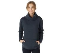 Ellmore Crew Sweater true black heather