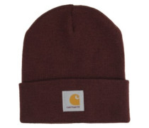 Short Watch Beanie amarone