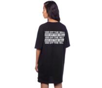 Brand Stripe Tee Dress black