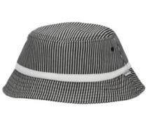 Conductor Bucket Hat black striped