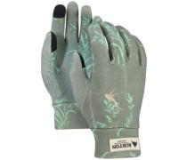 Merino Wool Liner Gloves falcon birds