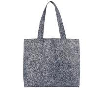Aop Shopper Bag black