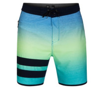 Pht Block Party Keep Cool 18 Boardshorts pacific blue