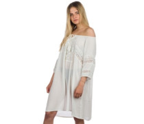 Boho Beach Cover Up Dress powder white