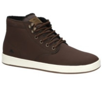 Romero Laced High Sneakers brown