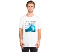 50-Palm Waves T-Shirt white