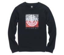 Reroute Crew Sweater flint black