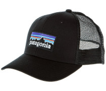 P-6 Logo Trucker Cap black