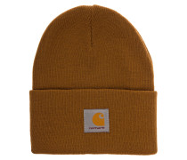 Acrylic Watch Beanie hamilton brown