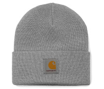 Short Watch Hat grey heather
