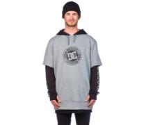 Dryden Fleece Pullover neutral gray heather