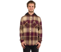 Wexler Woven Hood LS Shirt cinnamon