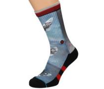 Kalani Socks red