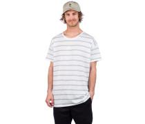 Striped Wow T-Shirt white aop