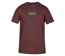 One & Only Small Box T-Shirt plum eclipse