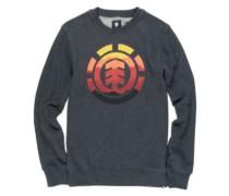 Logo Fill Crew Sweater eclipse navy