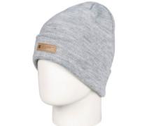 Label 2 Beanie neutral gray heather