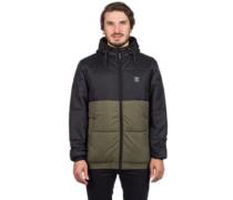 Stagger Hood Jacket black olive