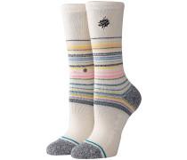Shannon Crew Socks cream