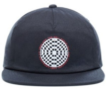 Checkered Shallow Unstructured Cap black
