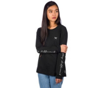 Stay Sleeve Print T-Shirt LS black