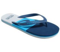 Slide Out Sandals blue