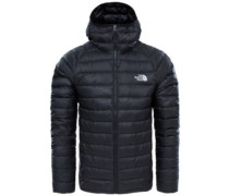 Trevail Hooded Outdoor Jacket tnf black
