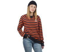 Celine Crew Sweater coral reef stripe