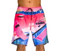 Yoko Hot Tub Boardshorts pink