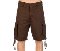 New Cargo Rip Stop Shorts choco brown
