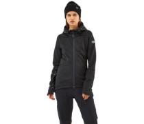Merino Decade Tech Mid Hood Jacket black