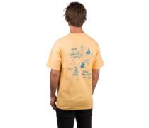 Sail T-Shirt squash
