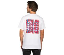 Love Me/Hate Me T-Shirt white