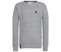 Zapzarap Zip Zap V Pullover grey melange