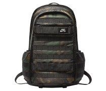 RPM Graphic Skateboarding Backpack black