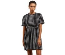 Boraborado Dress black white