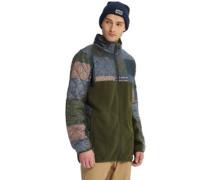 Pierce Fleece Jacket forest night he