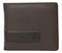 Showtime Bi-Fold Zip Wallet brown